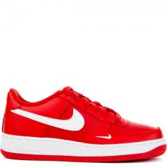 Nike ナイキ FW17 NIKE AIR FORCE 1 GS UNIVERSITY RED 22.5-27.5cm