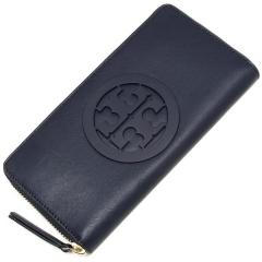 トリーバーチ TORY BURCH CHARLIE ZIP CONTINENTAL WALLET 長財布 NAVY 紺 4