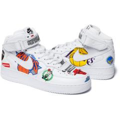 新作☆ Supreme SS18 Nike NBA Air Force 1 Mid White シュプリーム ナイキ