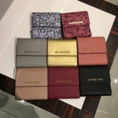 【Michael Kors】新作☆SMALL CARD CASE CARYALL 三つ折り財布 1