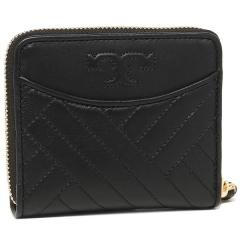 トリーバーチ TORY BURCH ALEXA Medium Zip Wallet 二つ折りBLACK 黒 3
