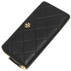 トリーバーチ TORY BURCH GEORGIA ZIP CONTINENTAL WALLET 長財布 BLACK 黒 4