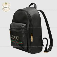 GUCCI グッチ【国内発送】プリント レザー バックパック 3