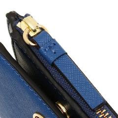 トリーバーチ TORY BURCH ROBINSON MINI WALLET 二つ折りREGAL BLUE/ROYAL NAVY 青  8