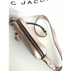 【Marc Jacobs】Metallic Zoom Leather Crossbody Bag 6