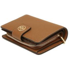 トリーバーチ TORY BURCH ROBINSON FRENCH FOLD WALLET 二つ折りTIGERS EYE 茶色  7