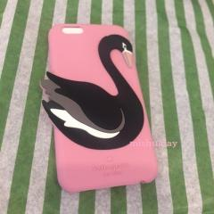 【kate spade】9月発表★3D swan iphone 6 case★シリコン 2