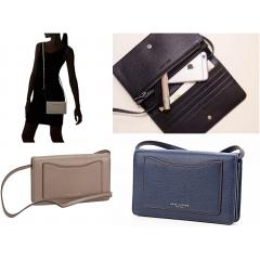 【Marc Jacobs】M0008178 Recruit wallet crossbody 長財布 2色