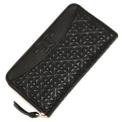 トリーバーチ TORY BURCH BRYANT ZIP CONTINENTAL 長財布 BLACK 黒  4