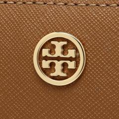 トリーバーチ TORY BURCH ROBINSON MINI WALLET 二つ折りTIGERS EYE 茶色 6