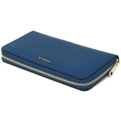 フルラ FURLA バビロン BABYLON XL ZIP AROUND 長財布 BLU PAVONE 青  7