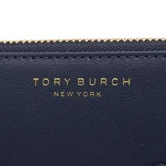 トリーバーチ TORY BURCH BLOCK-T BROGUE ZIP CONTINENTAL WALLET 長財布 ROYAL NAVY  6