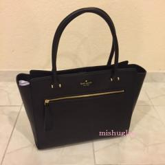 【kate spade】9月発表★可愛いタッセル付♪A4収納トート'allyn' 2