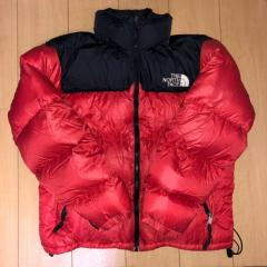 the north face nuptue ヌプシ 赤 red