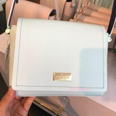 【kate spade】9月発表★レザー×スエード ポシェット'michela' 5