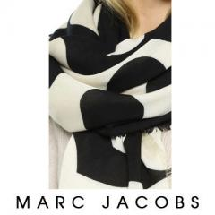 【Marc Jacobs】Big Spot Scarf 可愛い 大判 ドット柄 2