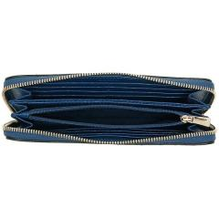 フルラ FURLA バビロン BABYLON XL ZIP AROUND 長財布 BLU PAVONE 青  2