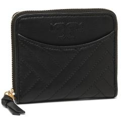 トリーバーチ TORY BURCH ALEXA Medium Zip Wallet 二つ折りBLACK 黒 1