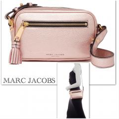 【Marc Jacobs】Metallic Zoom Leather Crossbody Bag